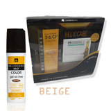 Pack HELIOCARE 360 GEL OILFREE BEIGE + ENDOCARE 7AMP