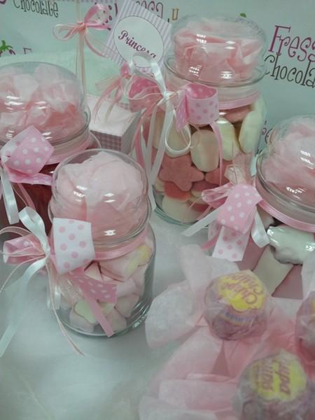 Botes De Cristal Decorados Para Caramelos