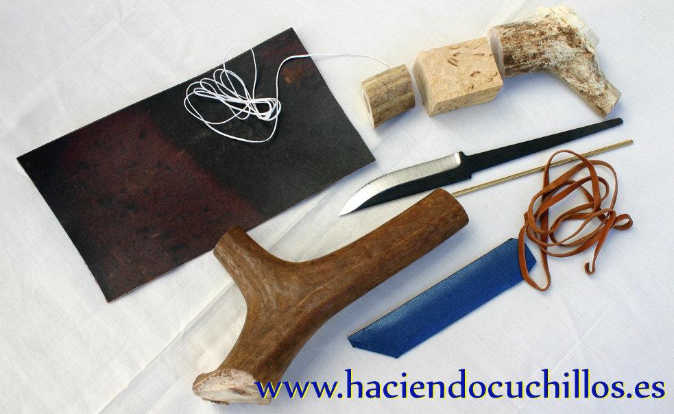 Kit completo saami del norte haciendo cuchillos for Brisa cuchillos