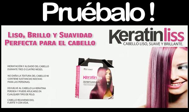 Tratamiento de Keratina Keratinliss - Pruébalo!