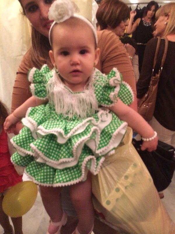 traje de gitana para bebe