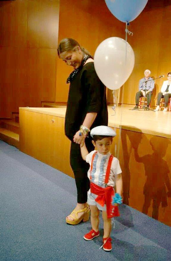 traje de flamenco para niño