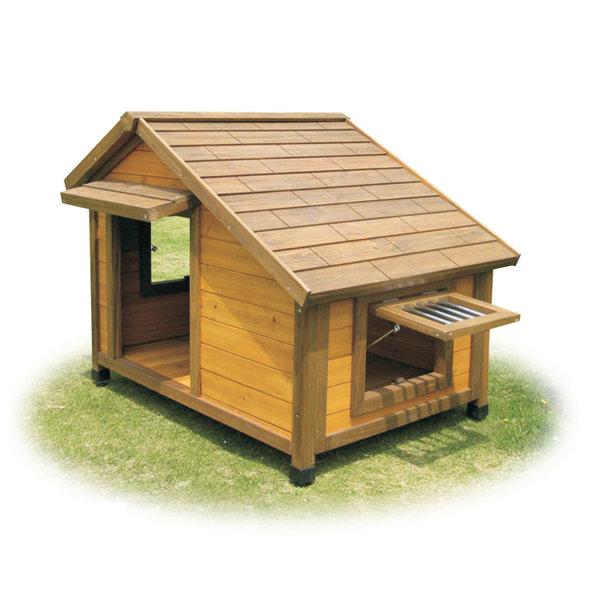 Decoracion mueble sofa casetas perros madera for Casetas para perros aki