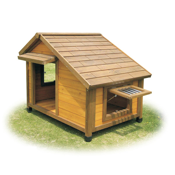 Casetas de madera para perros imagui for Casetas para perros bricomart
