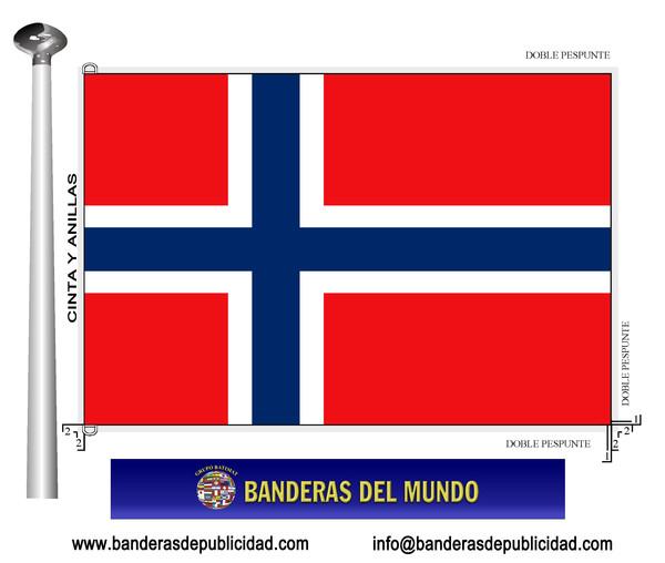 Bandera noruega banderas del mundo banderas y m stiles for Medida de baneras