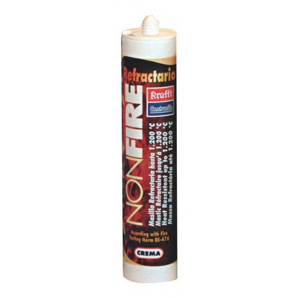 Masilla refractaria kraft bricofire tubos de chimenea y - Masilla de silicona ...