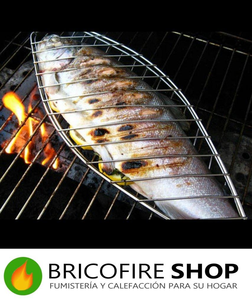 Parrilla para besugo y pescados - Parrillas para pescado ...