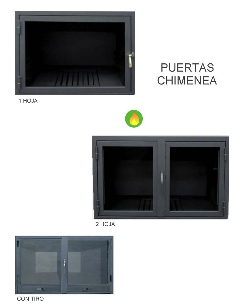 Puertas para chimeneas fabricacion a medida - Chimeneas a medida ...