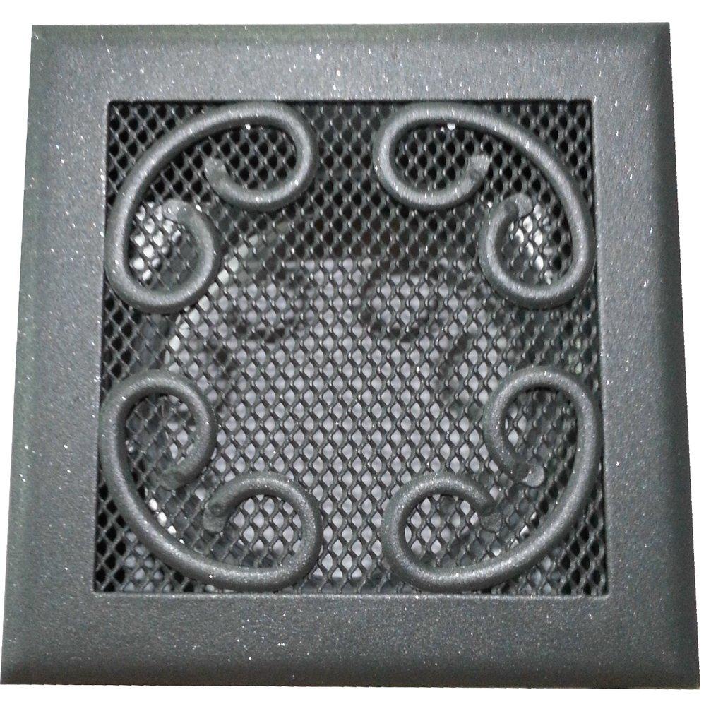 Rejilla ventilacion chimeneas 15x15 bricofire estufas de - Rejillas para chimeneas ...