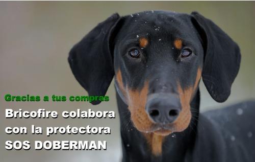 Bricofire Colabora con SOS Doberman