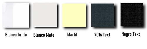 Colores rejillas pellet pared