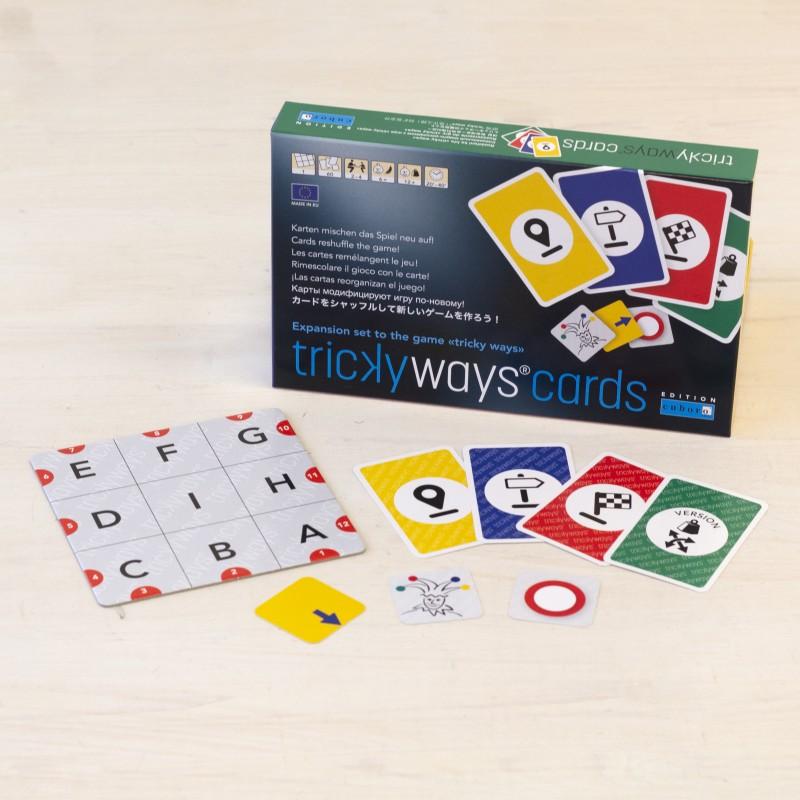 Las cartas de juego Tricky Ways Cards dan un giro más a tu juego