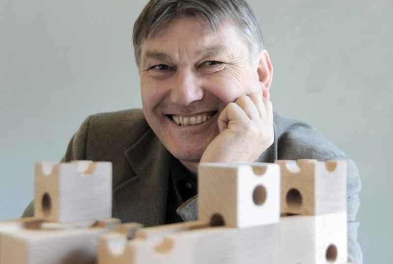 Creador e inventor de cuboro Matthias Etter