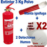Pack anti-incendio especial casa