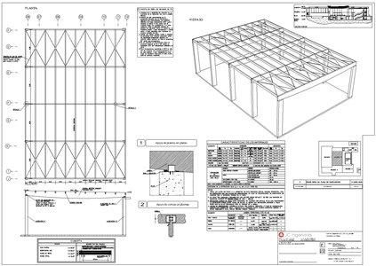 Planos ingenieros y arquitectos de estructuras dise o for Plano de un vivero forestal