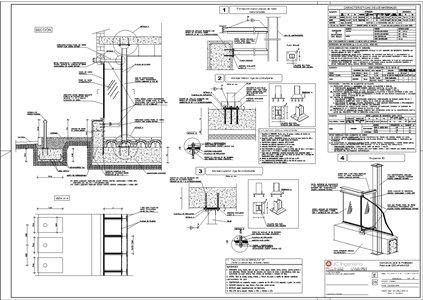 Planos de obras con vidrio jc ingenier a for Planos de arquitectura pdf