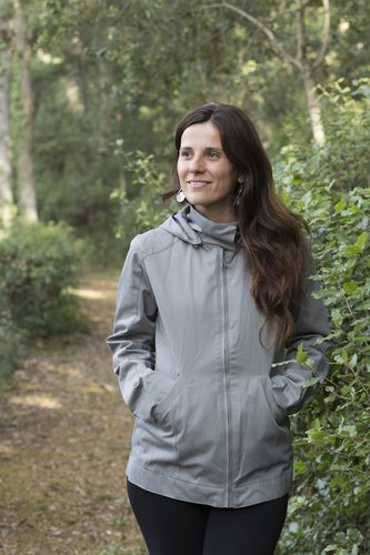 Chaqueta de porteo Momawo Light Gray