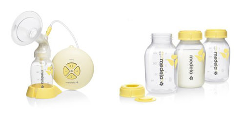 Pack Oferta Medela: Sacaleches Swing + 3 botellas - biberón