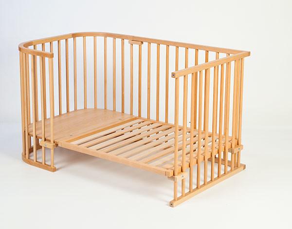 Conversi n cuna colecho original a cama infantil haya natural espacio lactancia tienda de - Cama infantil original ...