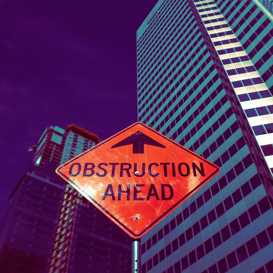 Señal de obstrucción