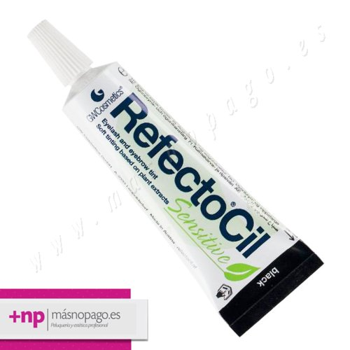 Refectocil Tinte Pestañas y cejas SENSITIVE Negro