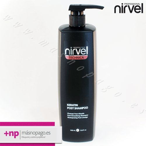 Keratinliss Champú POST 1000 ml