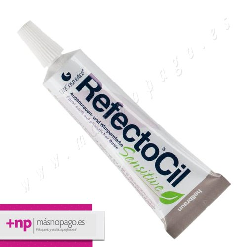 Refectocil Tinte Pestañas y cejas SENSITIVE Marron Claro