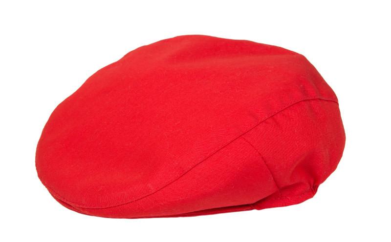 b4f0bb56693b4 Gorra boina flamenca roja para niño o niña realizada a mano - MiBebesito