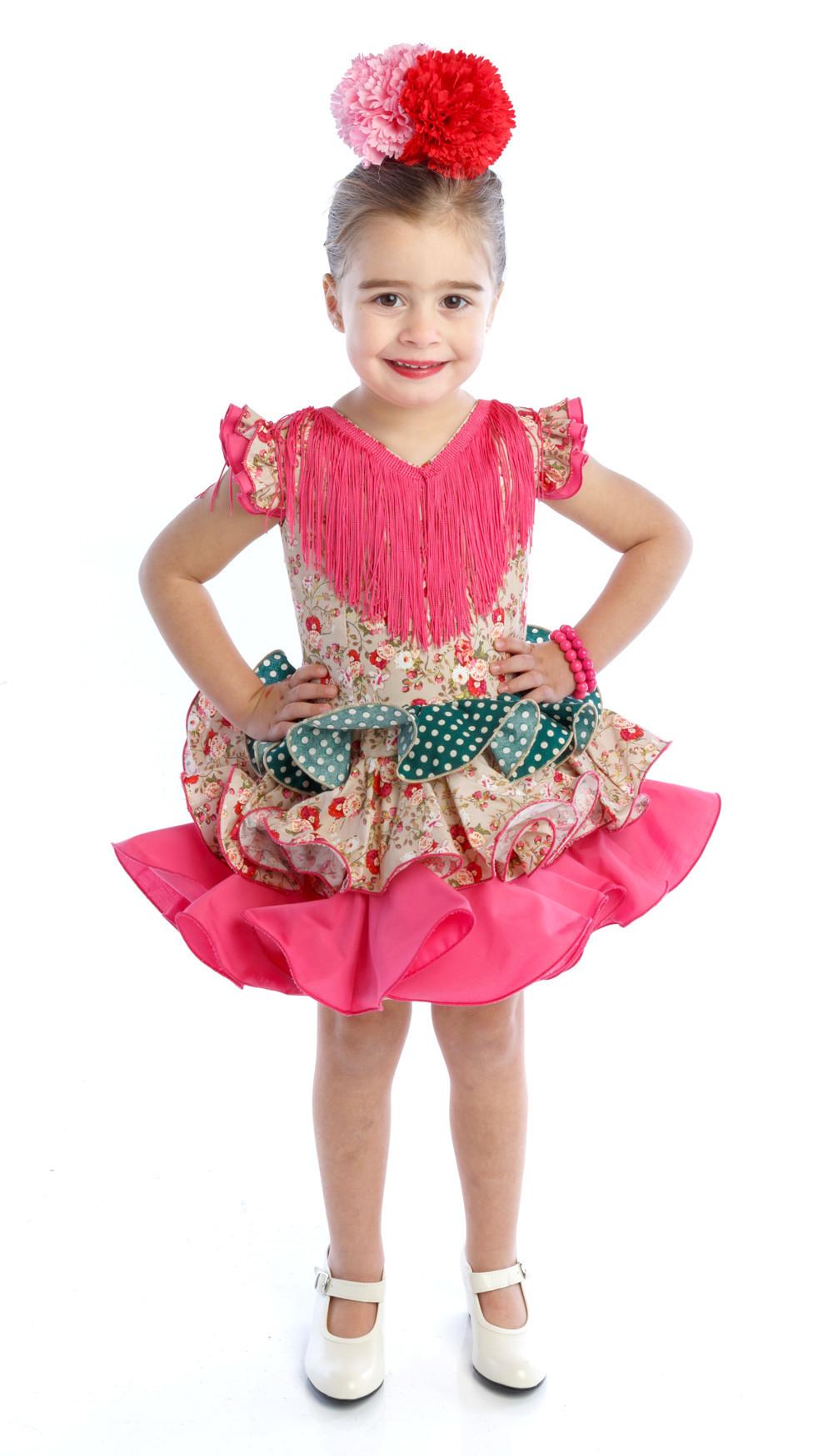 5d480d7c6e Traje de gitana flamenca para niña MiBebesito gtn404