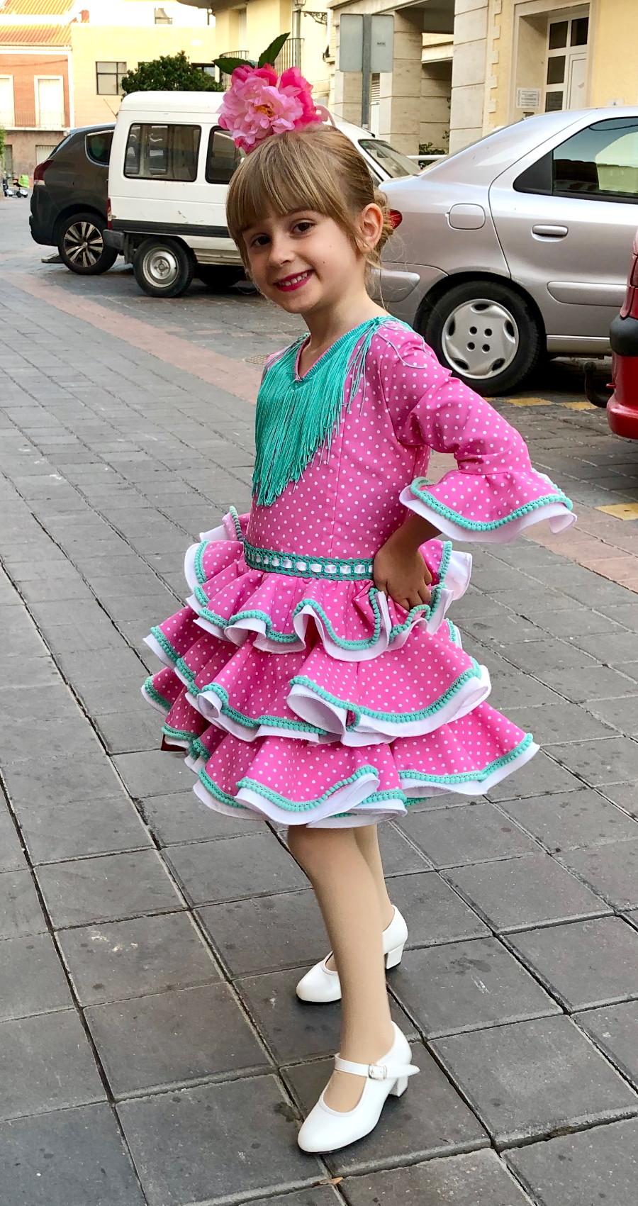 Experiencia de compra mibebesito traje flamenca