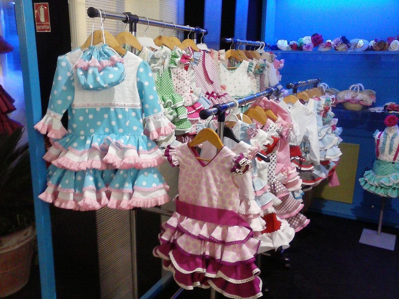 Moda flamenca infantil mibebesito
