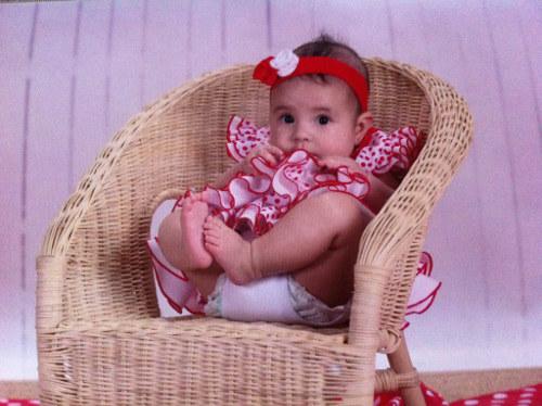 Vestido flamenca para bebe