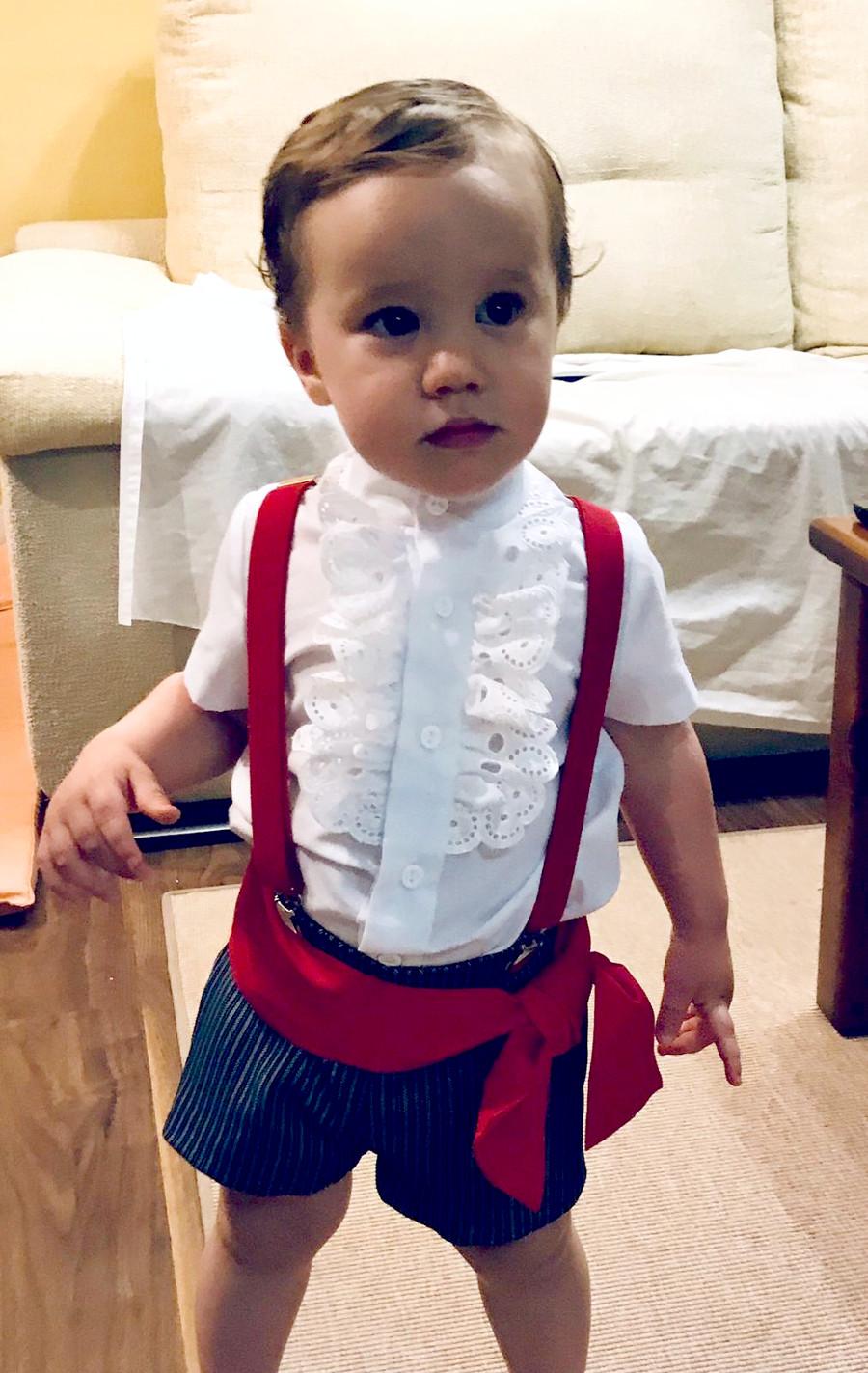 Traje de gitano flamenca clásico para niño MiBebesito