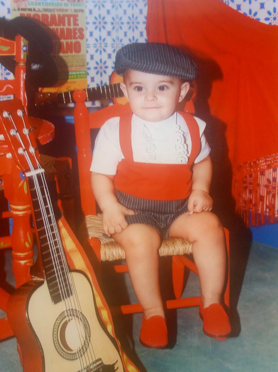 Traje de gitano flamenco clásico para niño