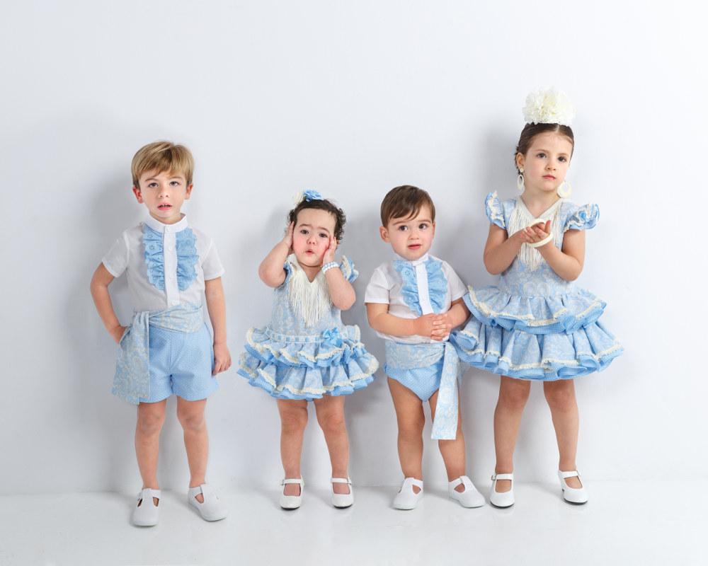 Trajes de flamenca infantil colección cachemir 2018