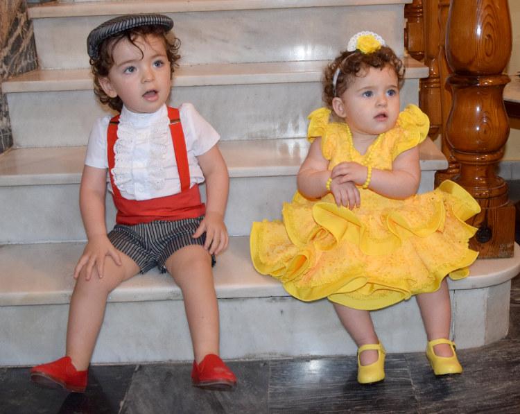 Traje de gitana flamenca infantil MiBebesito