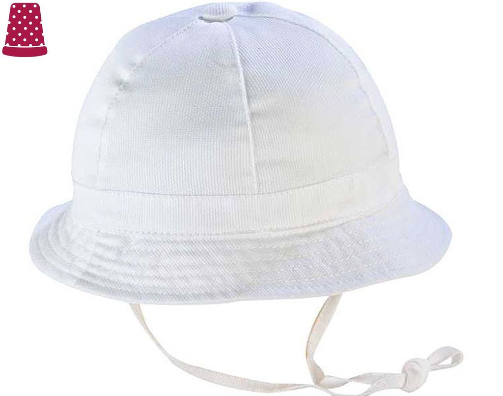 Sombrero bebé tela piqué - varios colores ffdd2ce38f91