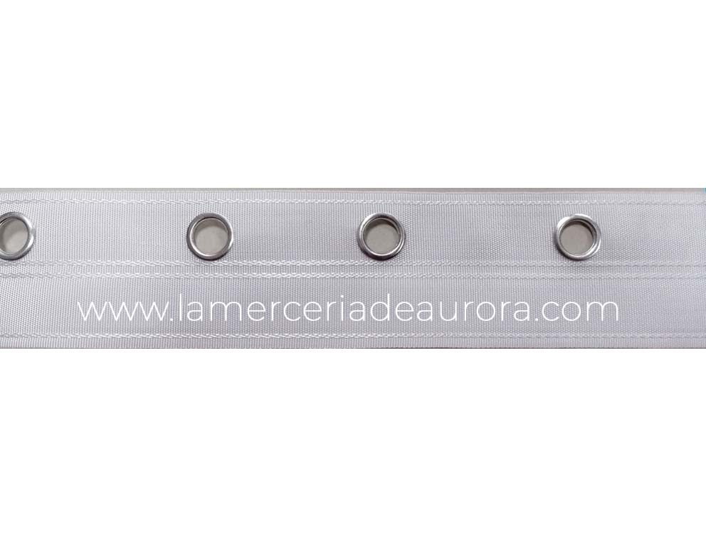 Cortina con Ojales de cinta 80mm-Por Metro