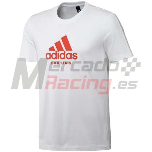 Adidas® Karting T-Shirt White