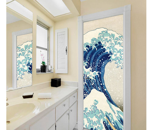 DoorDresser |  Coastal deco | Great wave