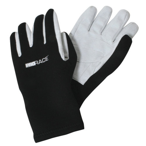 GUANTES ENTEROS ,2MM. NEGRO