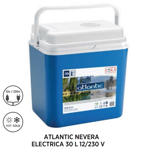 NEVERA ELECTRICA PORTATIL ATLANTIC 30 L. 12V-230V