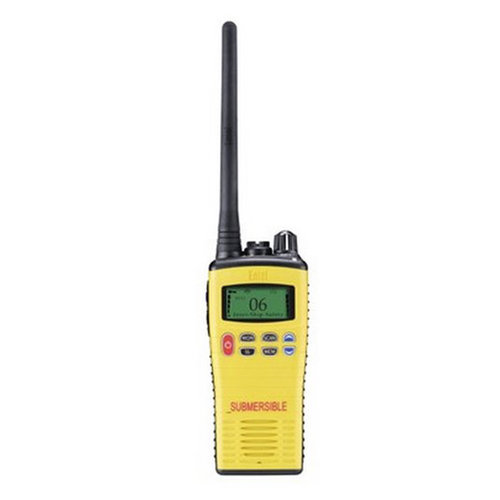 RADIO VHF PORTATIL SUMERGIBLE HT649