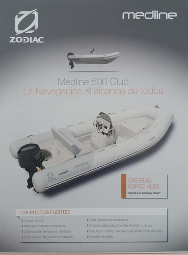 ZODIAC MEDLINE 500 CLUB