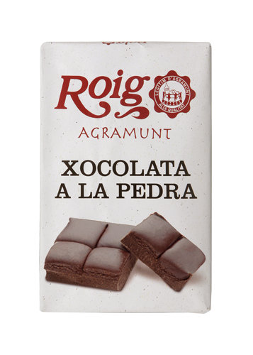 Chocolate a la piedra. 350g