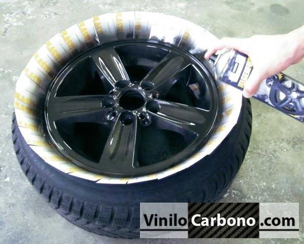 Espray plastidip negro mate 400ml vinilo carbono - Pintura en spray para coches ...