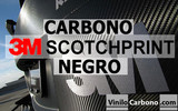 Vinilo Carbono 3M Scotchprint 1080 (Negro)