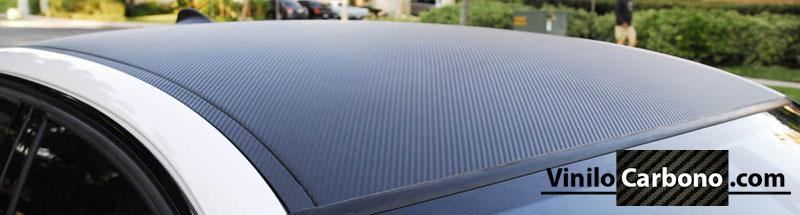 Techo BMW en Vinilo Fibra de Carbono