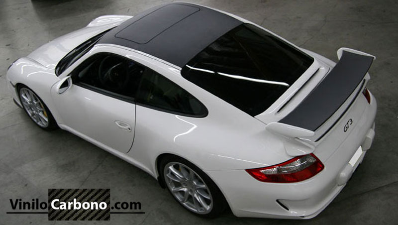Porsche GT3 Vinilo Carbono