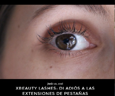 Experiencia de They Wear High Heels con el serum crece pestañas Xlash